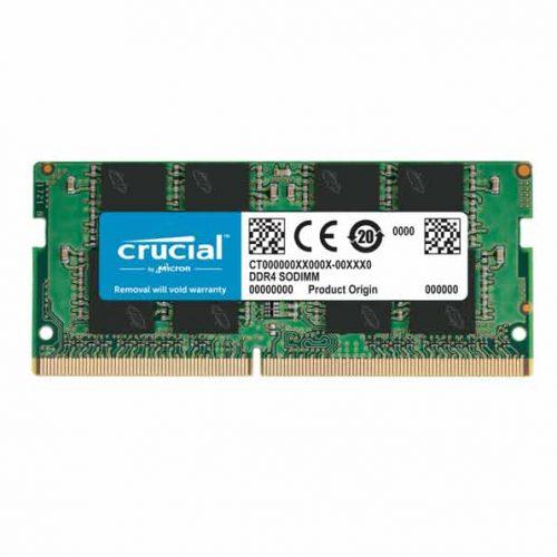 رم Crucial 4GB DDR4-2400 SODIMM با گارانتی ایمانتک