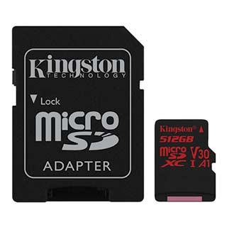 میکرو اس دی کینگستون مدلSDCRظرفیت 512گیگ